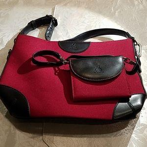 JOY MANGANO 2 piece handbag